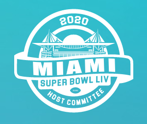 Miami Super Bowl Host Committee Logo